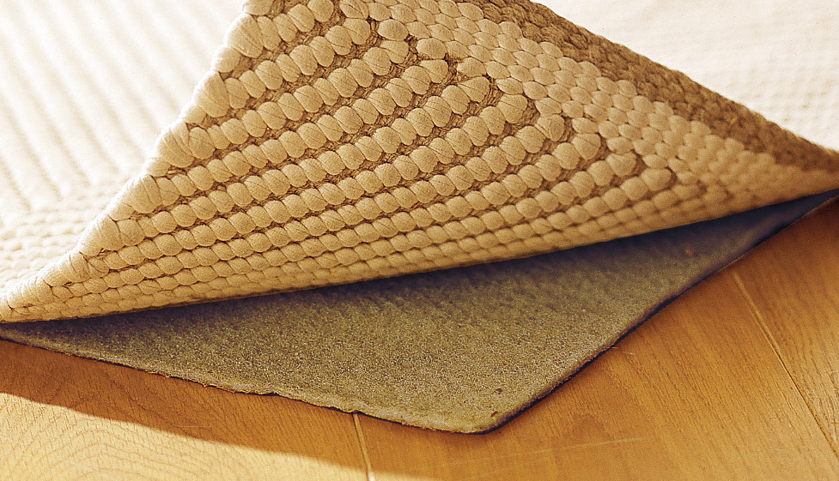 Teppich 200x200  Stoppmatte 195x195 cm, für Teppich 200x200 cm | Grüne Erde