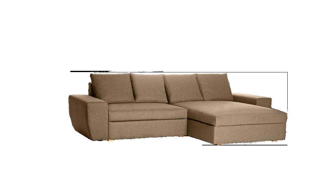Lounge-Sofa Pala, Breite 296 cm | Grüne Erde