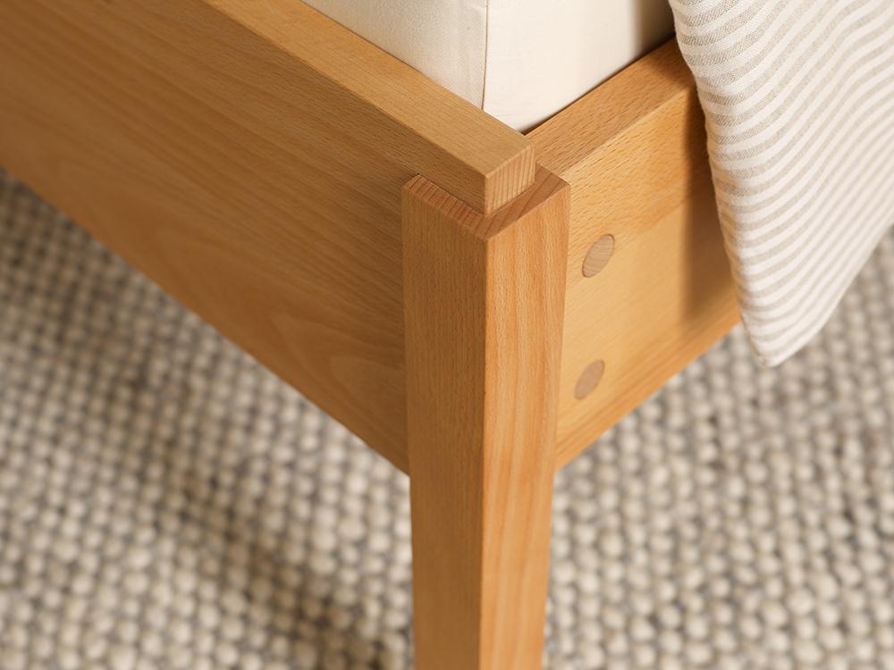 bett calvino gr ne erde. Black Bedroom Furniture Sets. Home Design Ideas
