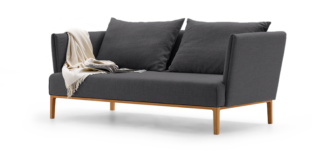 allora 3er sofa gr ne erde. Black Bedroom Furniture Sets. Home Design Ideas