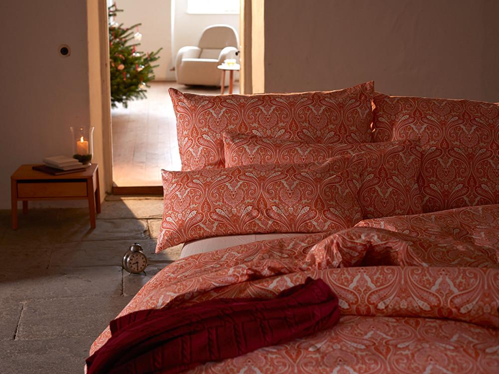 decken berzug indira gr ne erde. Black Bedroom Furniture Sets. Home Design Ideas