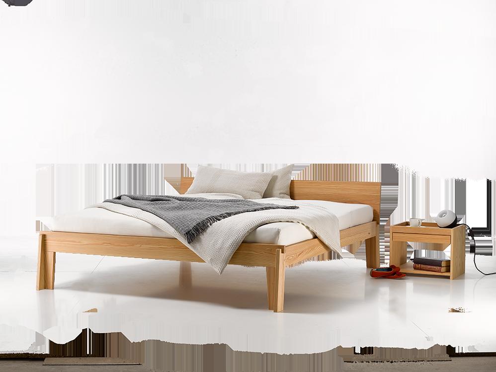bett stefano aus l rche gr ne erde. Black Bedroom Furniture Sets. Home Design Ideas