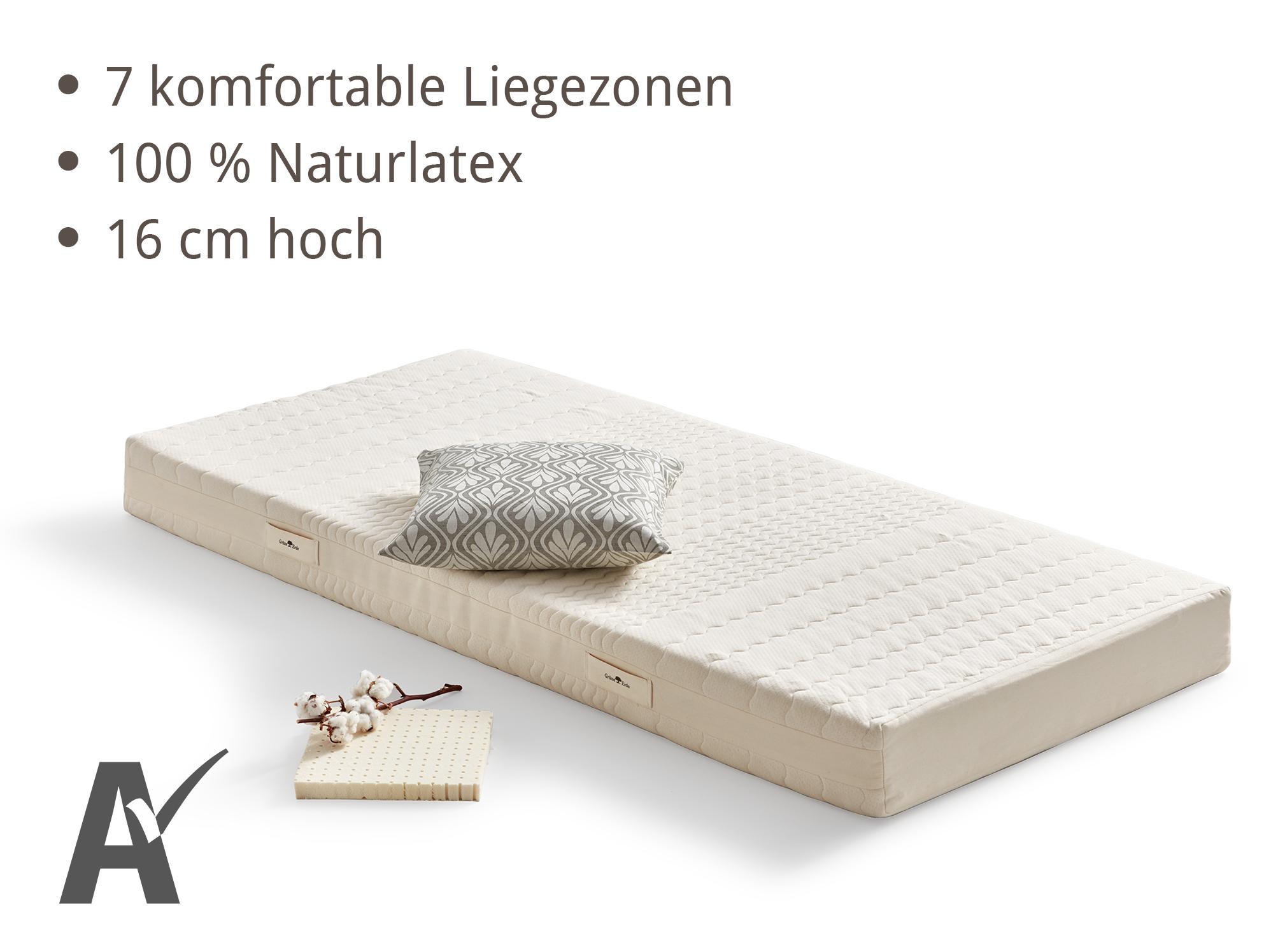 matratze rona s wolke anpassungsf hig punktelastisch gr ne erde. Black Bedroom Furniture Sets. Home Design Ideas