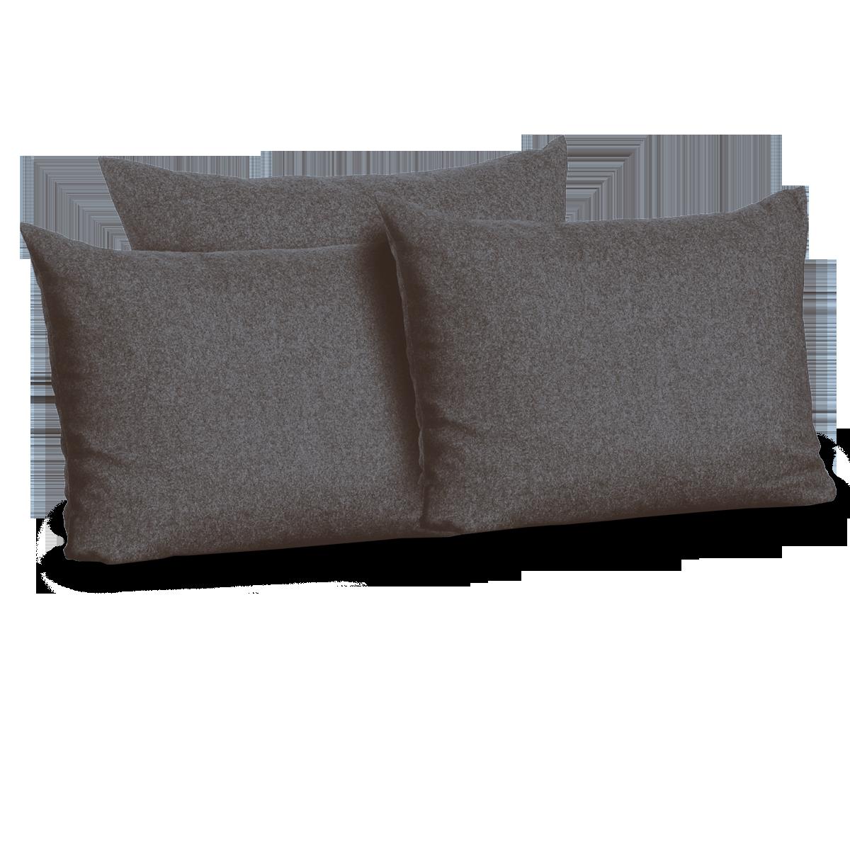 kissenset f r bettsofa stefano gr ne erde. Black Bedroom Furniture Sets. Home Design Ideas