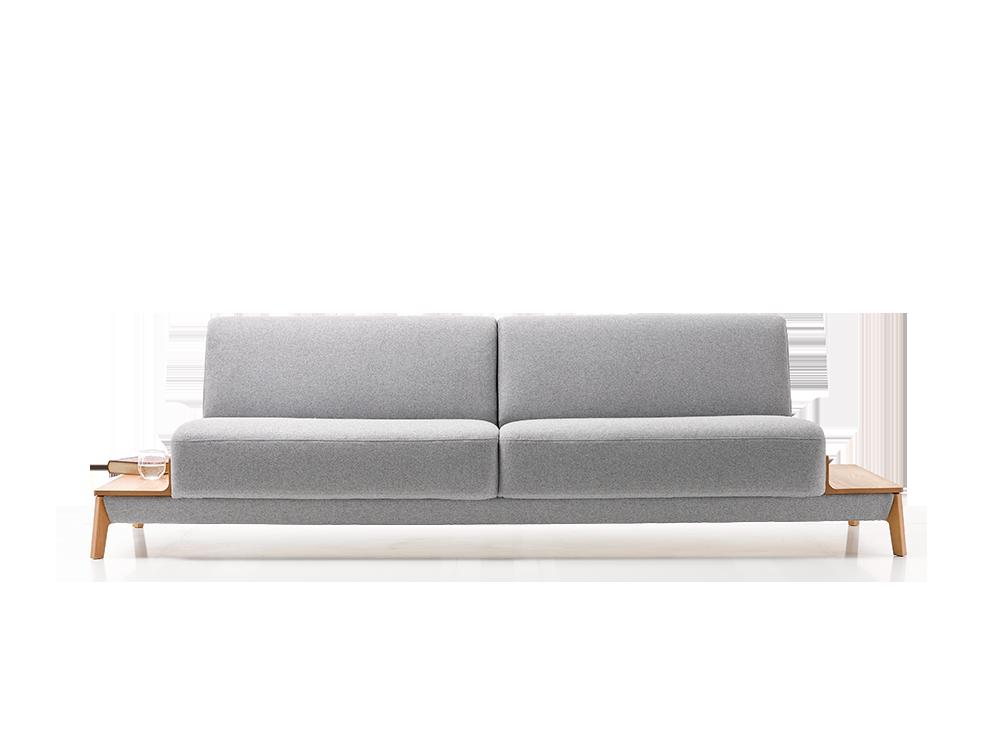 2er sofa alani breite 252 cm gr ne erde. Black Bedroom Furniture Sets. Home Design Ideas