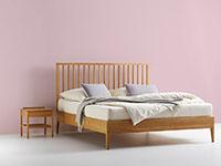 farbtherapeuten sehen die farbe rosa im schlafzimmer neben grn blau und indigo als besonders schlaffrdernd dieser farbton ist eine sehr weiche und - Wandfarbe Schlafzimmer