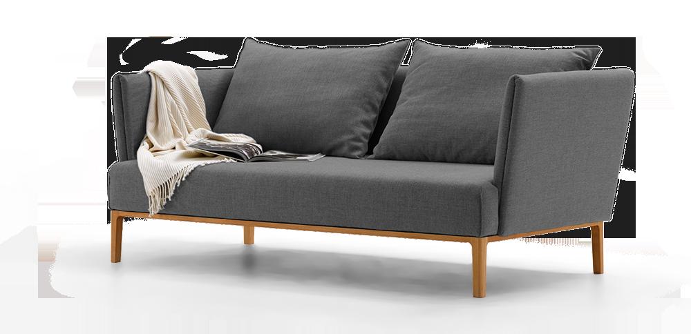 lorea 2er sofa gr ne erde. Black Bedroom Furniture Sets. Home Design Ideas