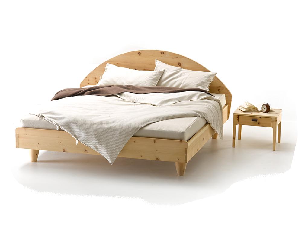 elfenbett flora zirbe gr ne erde. Black Bedroom Furniture Sets. Home Design Ideas