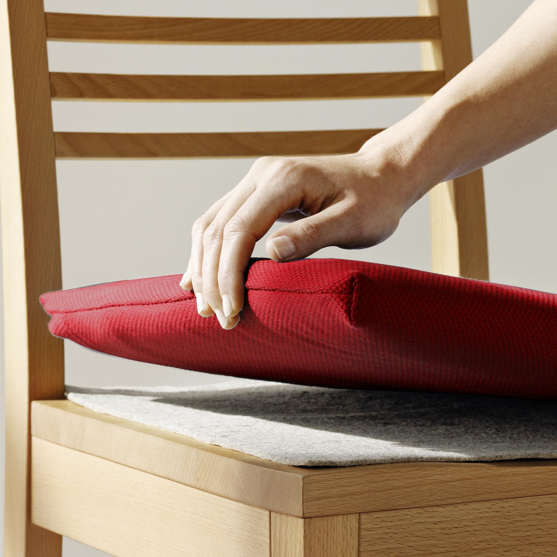 set stuhlkissen berzug bw uni feinstrukturiert stoppmatte f r stuhl fred ohne armlehnen. Black Bedroom Furniture Sets. Home Design Ideas