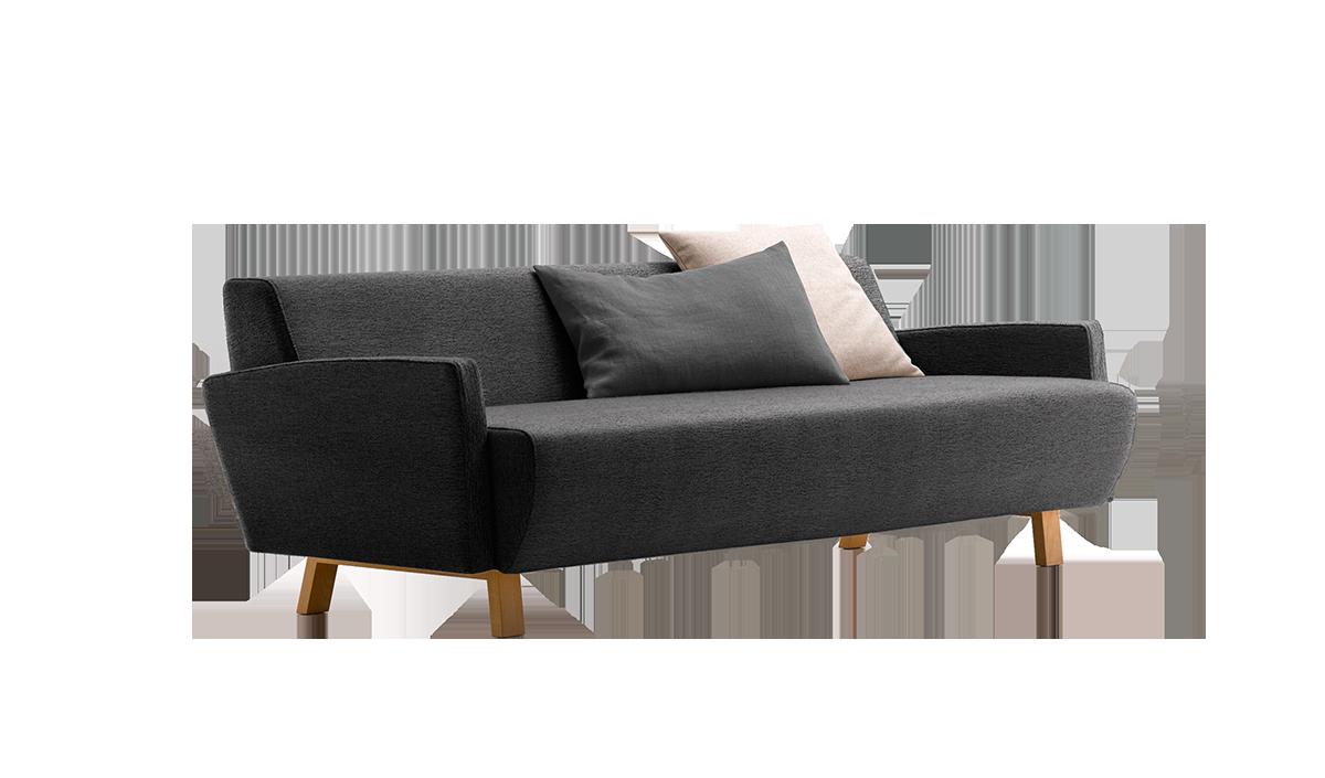 3er sofa lavolta gr ne erde. Black Bedroom Furniture Sets. Home Design Ideas