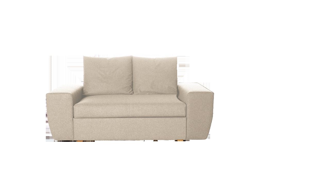 lounge sofa pala 2er sofa 176x100 cm gr ne erde. Black Bedroom Furniture Sets. Home Design Ideas