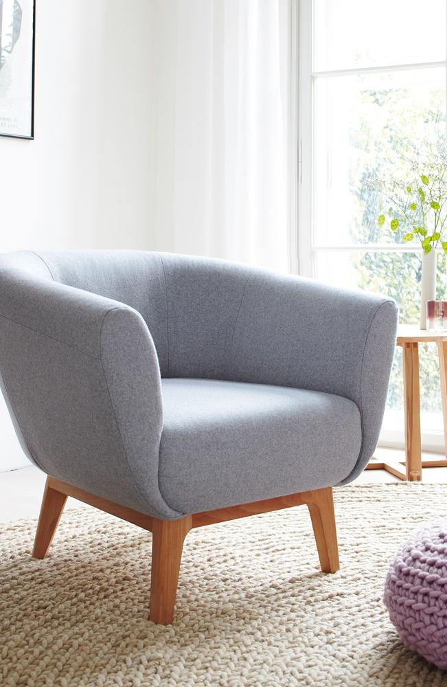 fauteuil livia gr ne erde. Black Bedroom Furniture Sets. Home Design Ideas