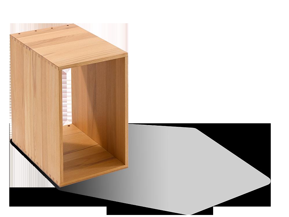 esempio modulsystem modul 18 offen ohne r ckwand gr ne erde. Black Bedroom Furniture Sets. Home Design Ideas