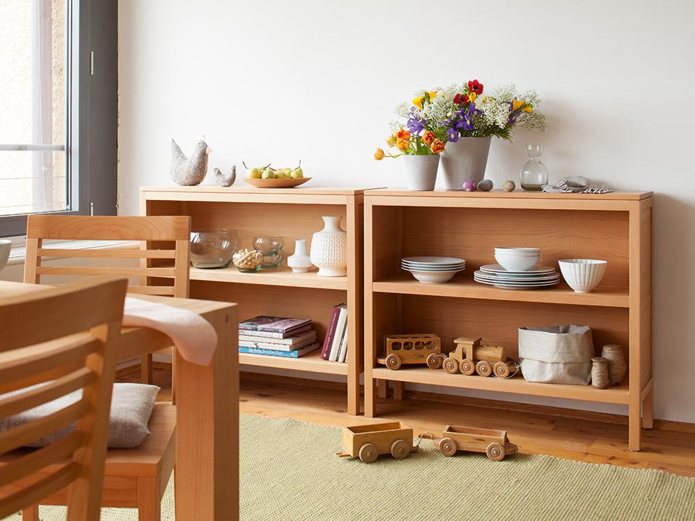 ettore b cherschrank niedrig gr ne erde. Black Bedroom Furniture Sets. Home Design Ideas