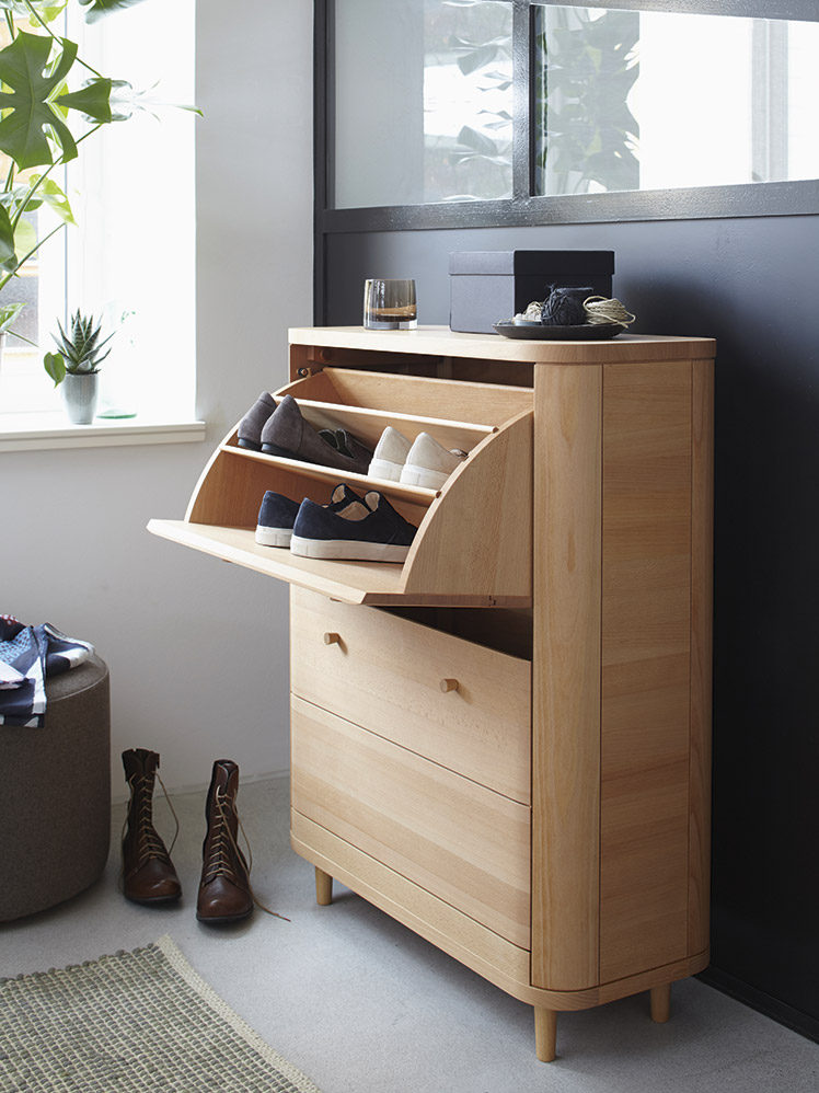 schuhschrank tonda gr ne erde. Black Bedroom Furniture Sets. Home Design Ideas