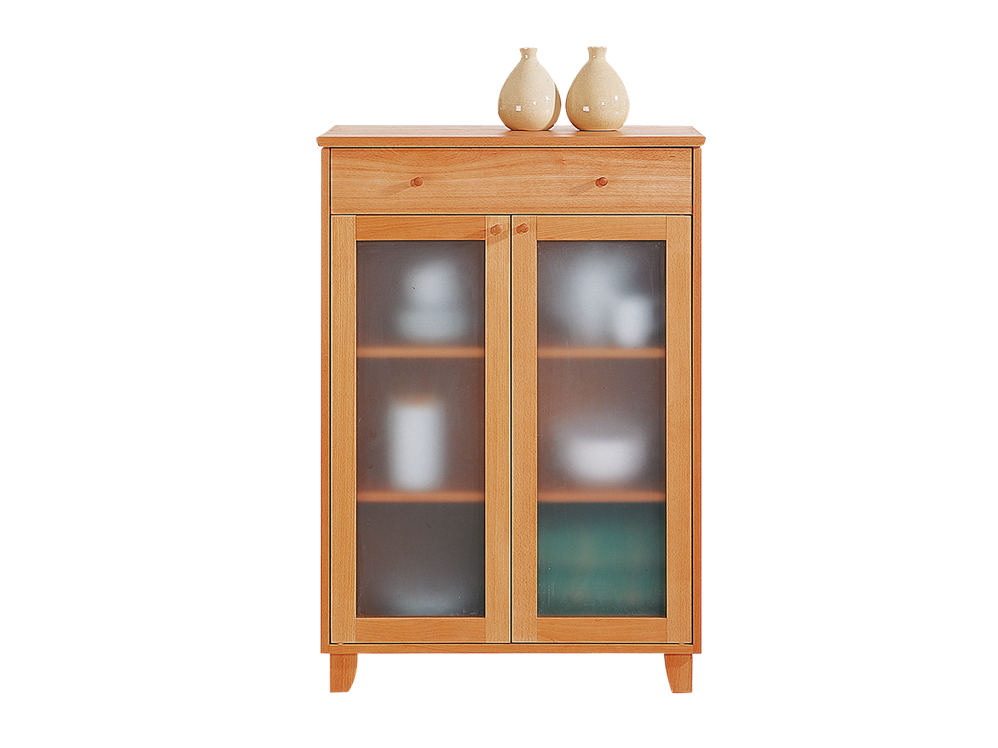 schrank elena 2 t rig und mit 1 lade buche gr ne erde. Black Bedroom Furniture Sets. Home Design Ideas