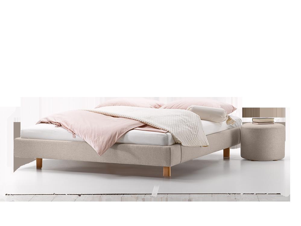 polsterbett abito ohne betthaupt gr ne erde. Black Bedroom Furniture Sets. Home Design Ideas