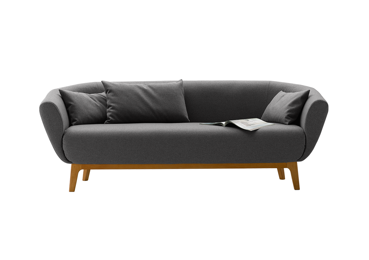 sofa livia gr ne erde. Black Bedroom Furniture Sets. Home Design Ideas