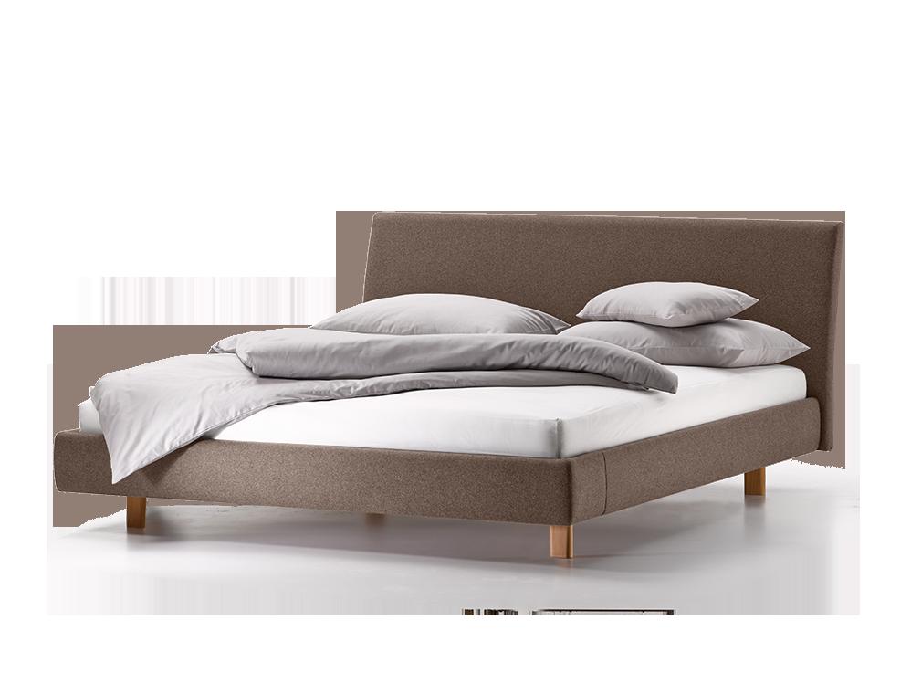 polsterbett abito mit betthaupt gr ne erde. Black Bedroom Furniture Sets. Home Design Ideas
