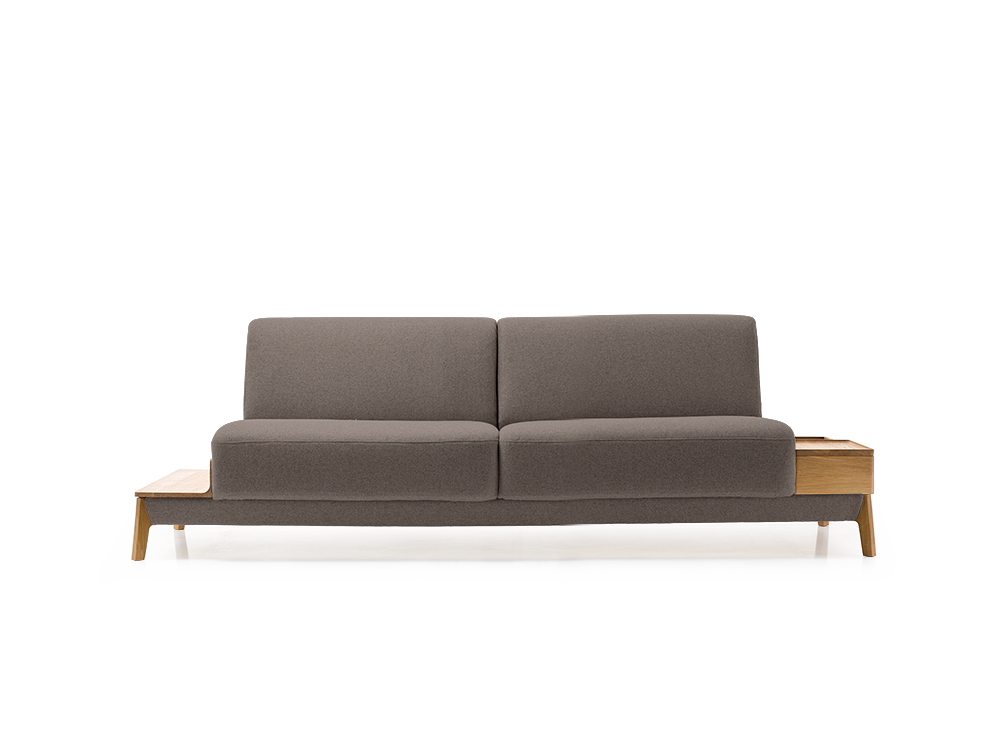 sofa alani b212xt94xh75 cm sitzh he 41 cm eiche mit bezug. Black Bedroom Furniture Sets. Home Design Ideas