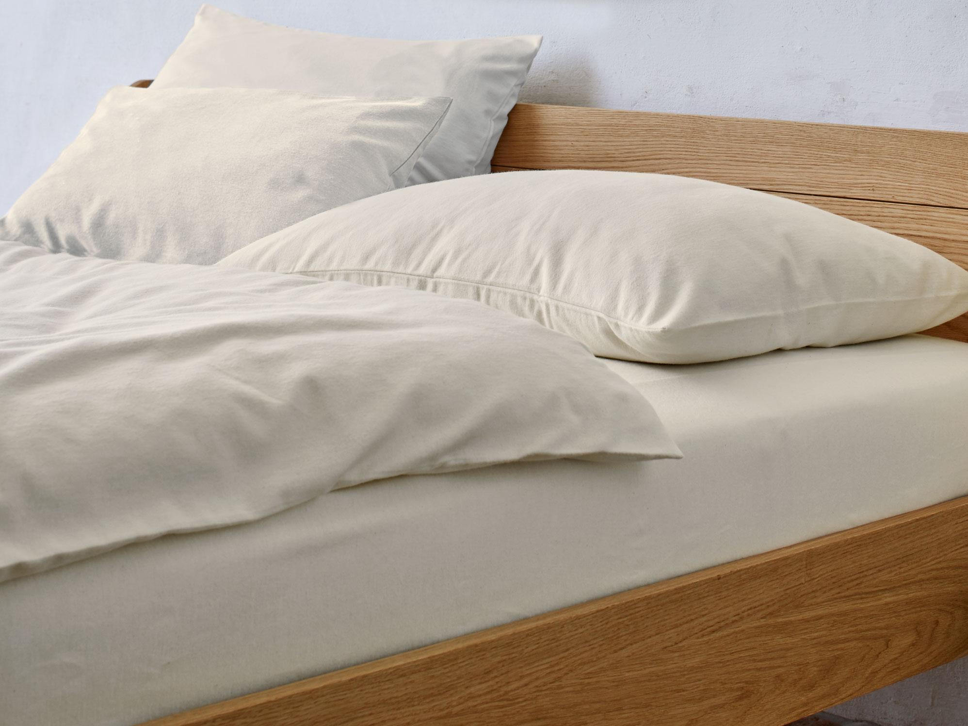 decken berzug biber flanell gr ne erde. Black Bedroom Furniture Sets. Home Design Ideas