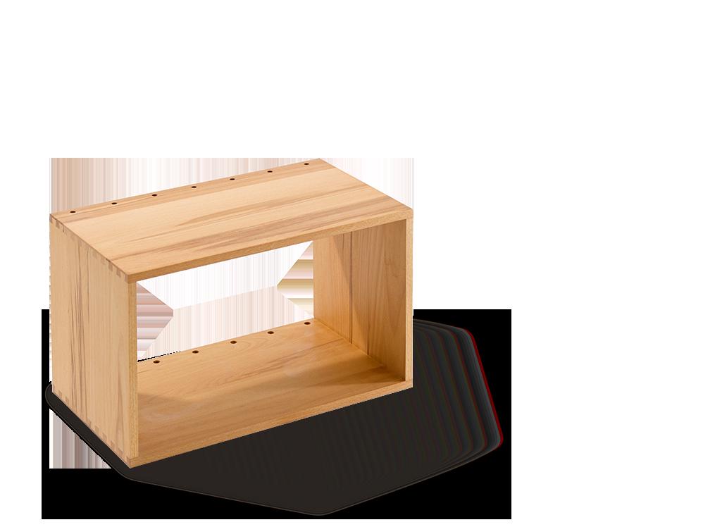 esempio modulsystem modul 1 offen ohne r ckwand gr ne erde. Black Bedroom Furniture Sets. Home Design Ideas