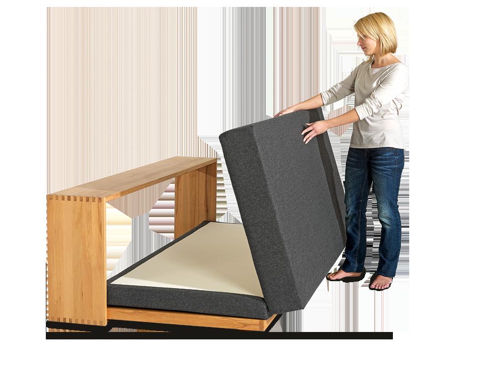 bettsofa stefano 180x200 cm gr ne erde. Black Bedroom Furniture Sets. Home Design Ideas