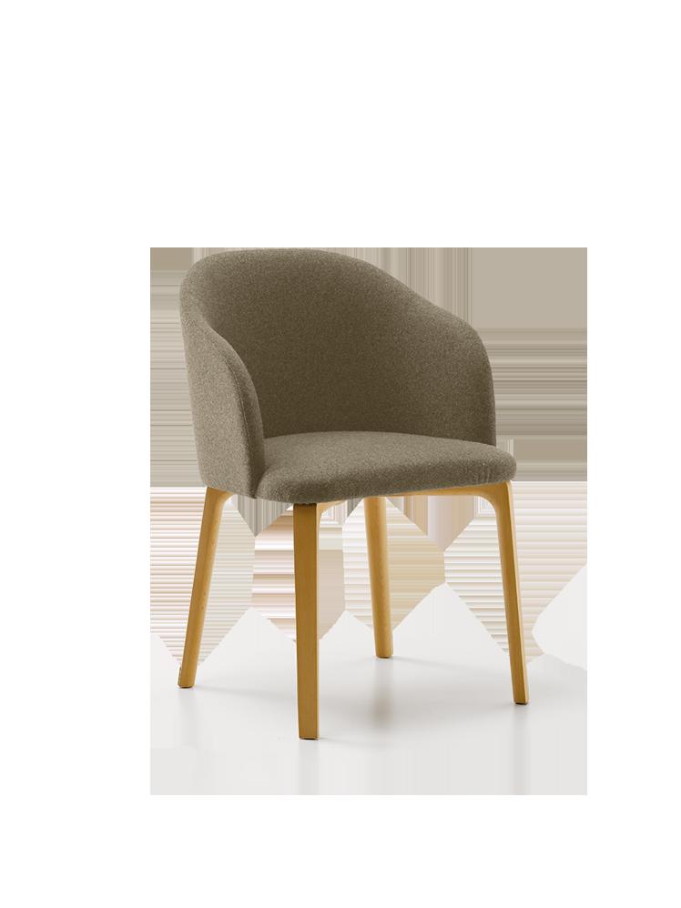 Stuhl belmont mit armlehne 56x60 45x83 48 cm mit bezug woll hanfstoff tanaro - Fauteuil salle a manger design ...