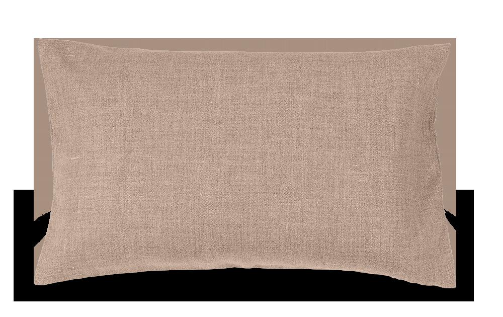 sofakissen 40x60 cm 60 latexflocken 40 kapok berzug woll hanfstoff tanaro hotelverschluss. Black Bedroom Furniture Sets. Home Design Ideas
