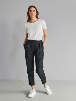 Hose-Joggpants, dark denim