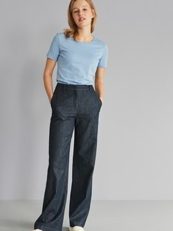 Culotte, dark denim