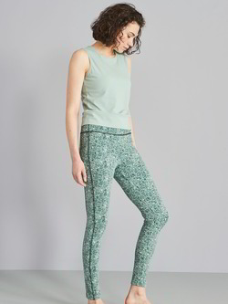 Active-Leggings, Yoga Druck