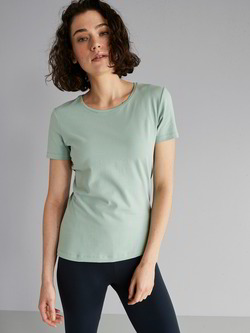 T-Shirt, light aqua