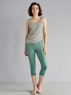 Sport-Leggings, Salbei
