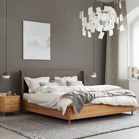 Farbe im Schlafzimmer | Grüne Erde