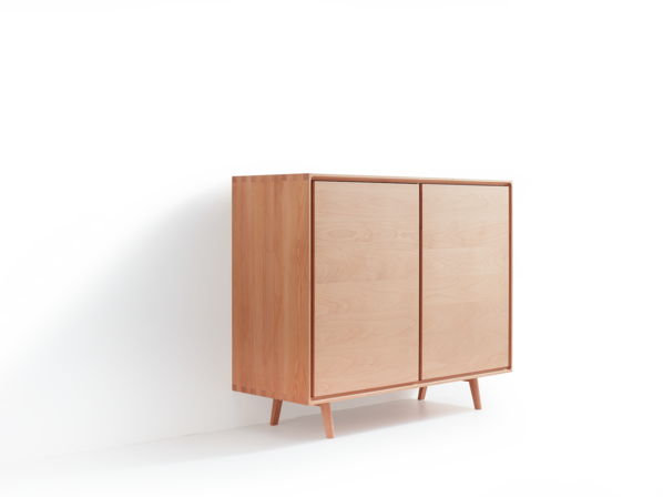 Highboard Tesoro 2-türig, Buche
