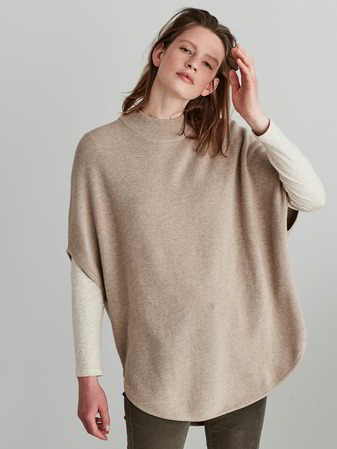 Pullover-Loose Fit, natur