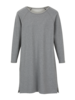 Kleid-Sweat, stein melange