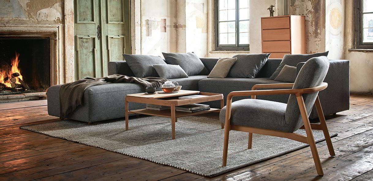 Wohnzimmermöbel aus Massivholz | Grüne Erde