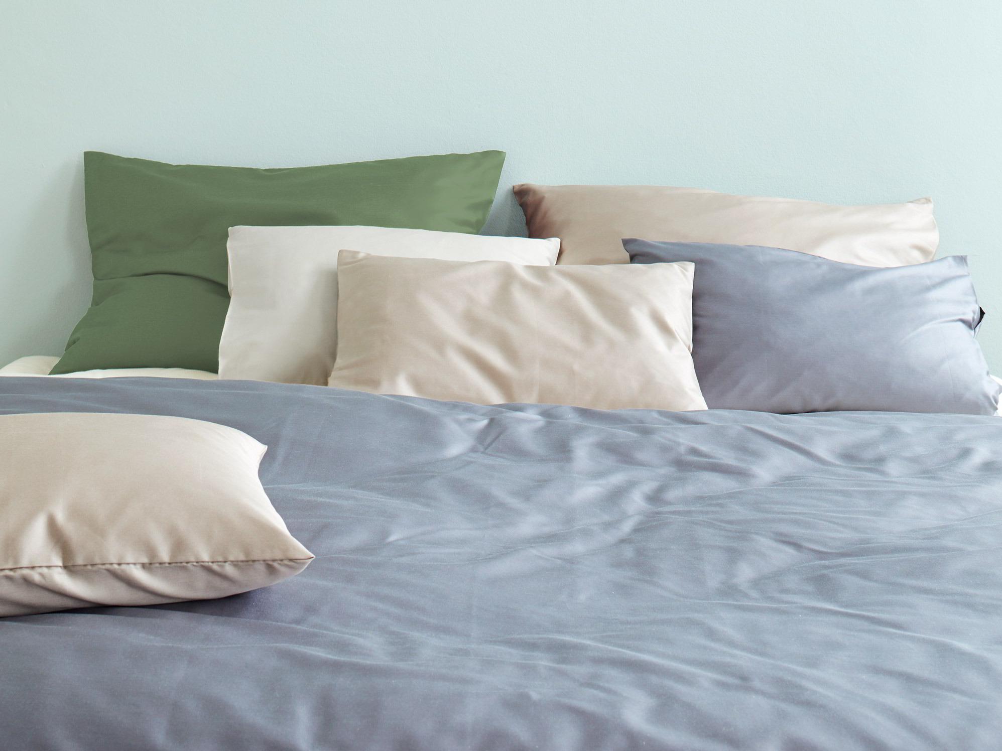 decken berzug leah gr ne erde. Black Bedroom Furniture Sets. Home Design Ideas