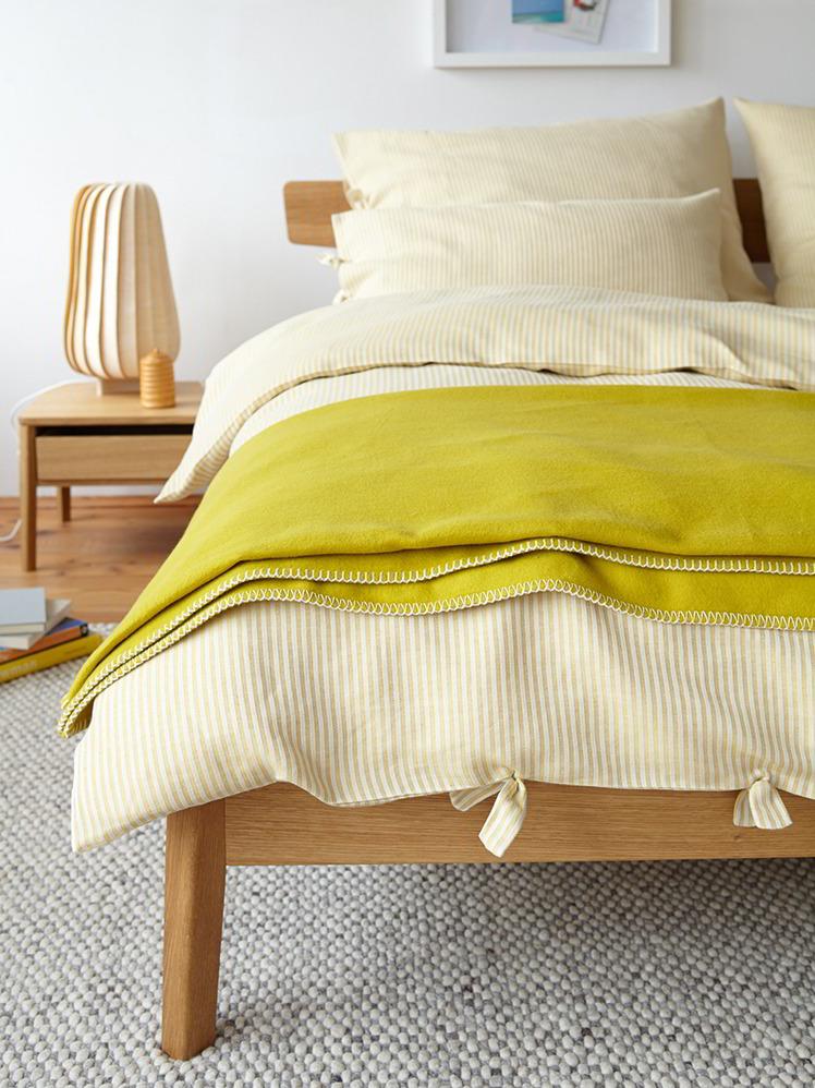 decken berzug henry gr ne erde. Black Bedroom Furniture Sets. Home Design Ideas