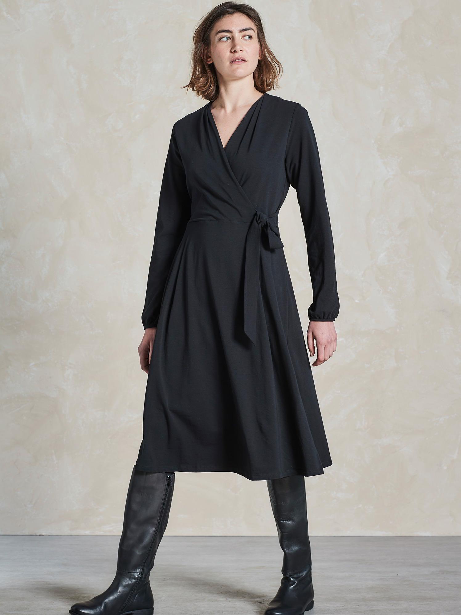 Kleid Jersey Wickeloptik