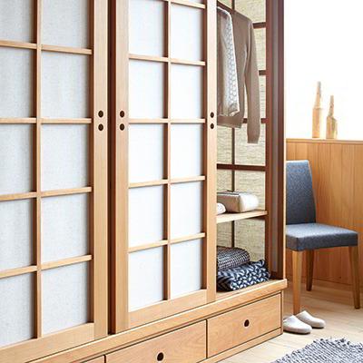 Japanisches Design Grune Erde