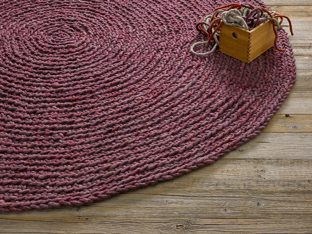 schafschurwoll teppich maglia gr ne erde. Black Bedroom Furniture Sets. Home Design Ideas