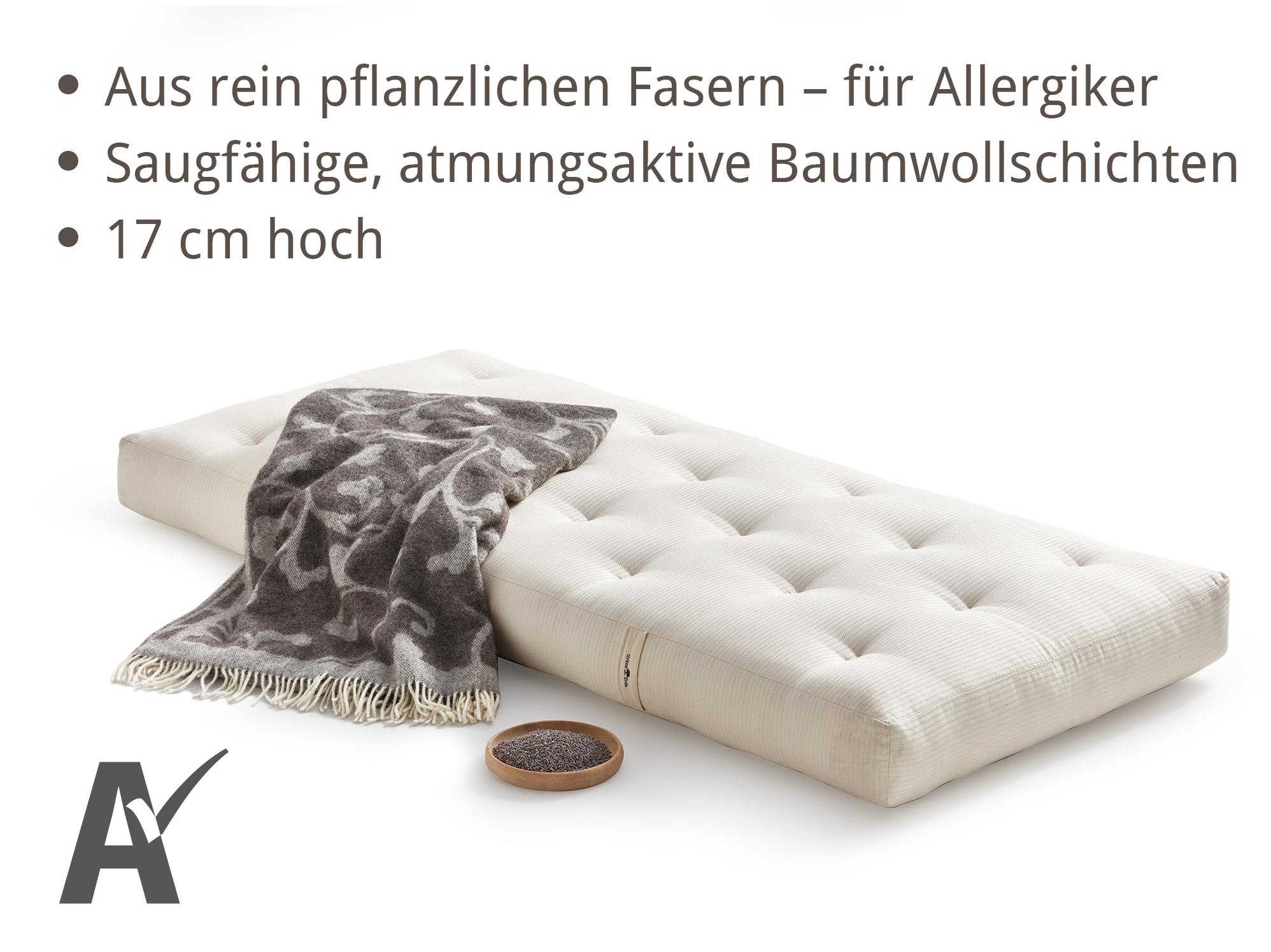 matratze sanfte wolke bequem duftend gr ne erde. Black Bedroom Furniture Sets. Home Design Ideas