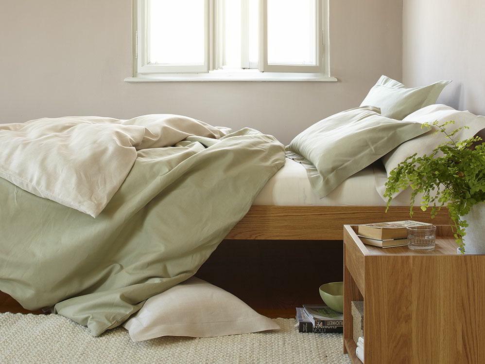 kissen berzug louisa gr ne erde. Black Bedroom Furniture Sets. Home Design Ideas