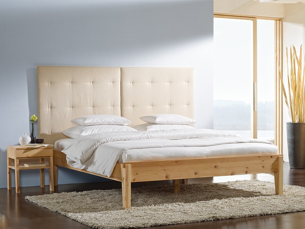 bett alpina ohne betthaupt gr ne erde. Black Bedroom Furniture Sets. Home Design Ideas