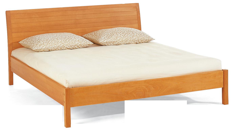 la barca bett mit hohem kopfteil ohne lattenrost buche gr ne erde. Black Bedroom Furniture Sets. Home Design Ideas