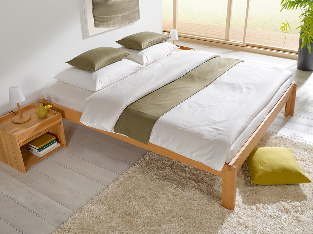 bett stefano ohne betthaupt inkl elastischem lattenrost gr ne erde. Black Bedroom Furniture Sets. Home Design Ideas
